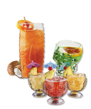 Zeppelin Tiki Cocktails